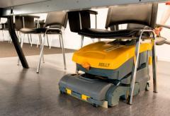 Машина за почистване на твърди настилки под наем  на кабел 800 м2/час., GHIBLI, , За миене на твърди настилки a78718c4