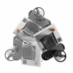 Професионална метачна машина с човек на борда Ghibli&Wirbel SWEEPER - HS R 110 BC, GHIBLI&WIRBEL, Автономни, Метачни машини, За метене на открити площи d36719e8